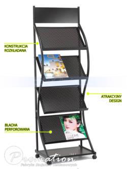 Uniwersalny stojak na katalogi i ulotki